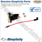 Genuine Simplicity Starter Solenoid Kit for Lawn Mowers & Tractors / 1686981YP