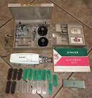 VTG Singer 500 Slant-O-Matic Sewing Attachments Parts Toolbox Manual Button Hole