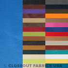 VINYL FABRIC FAUX LEATHER FABRIC PLEATHER UPHOLSTERY FABRIC 31 COLORS 54W