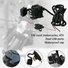 Dual USB Charger Phone Power Socket for Suzuki Bandit GSF 400 600 1200 1250 ABS