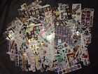 HUGE Lot of Vintage to Now Stamps Stickers Collection Craft Scrapbook Supplies
