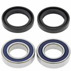 KTM SX 125/200/250, 2000-2002, Front Wheel Bearings & Seals - SX125 SX200 SX250