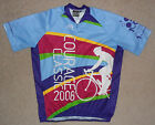 Vintage PACTIMO 2008 COURAGE CLASSIC CHILDRENS HOSPITAL Cycling Jersey Mens XL