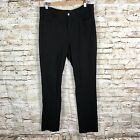 Not Your Daughters Jeans Black Trouser Pants Sz 12 NYDJ stretch Lift And Tuck