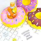 1 Pc Summer Party Boat Donut Swimming Pool Inflatable Drink Can Beer Holder MK84
