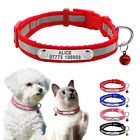 Reflective Personalised Small Dog Collars Pet Puppy Cat Collar  Bell Chihuahua