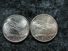 2 old coin USA 25 cents COLORADO state quarter 2006 P  D Rockies Satin Finish