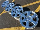 17 JEEP COMMANDER CHROME LIMITED OEM FACTORY STOCK WHEELS RIMS TPMS 5X5 5X127