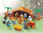 Kids Nativity Scene Playset Fisher Price Little People A Christmas Story JESUS