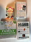 Lot of 4 Books BIGGEST LOSER Lo Carb Gram counter Heart Healthy Cookbooks