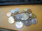 Coin Bracelet Phillipine 1944 Centavos and Others