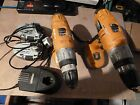 worx battery 18v drill 3 batterys x charger.pic up only