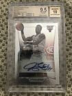 2012 PRIZM JIMMY BUTLER SILVER REFRACTOR AUTO RC BGS 9.5