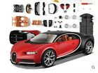 Maisto 124 Bugatti Chiron Assembly DIY Diecast Model Racing Car Vehicle Toy NIB