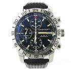 Mens Chopard Mille Miglia 8992 Stainless Steel Chronograph GMT Watch W/ Box.