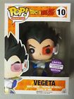 Dragon Ball Z Vegeta Funko Pop Animation Limited Edition Convention Exclusive