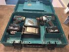 MAKITA 18V LXT Lithium ion DTD146 and DHP458, 2x 4.0AH Batterys And Charger!