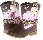 Hello Kitty Toddler Boots Cowboy Cowgirl Boots Brown Boots Pink Boots Size 5
