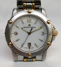 Maurice Lacroix Tiago Roman SS/18K Solid Gold Quartz Swiss Watch