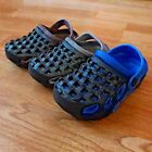 Baby toddler boys girls clogs rubber foam sandals shoes blue gray brown 5 10