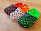 Baby toddler boys girls clogs rubber foam sandals shoes red gray green size 5 10