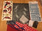 4 Pre Made 12 X 12 Scrapbooking Pages Spider Man