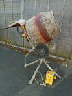 Belle concrete cement mixer & stand electric 110 with 110v box minimix
