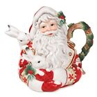 Fitz And Floyd Town & Country Santa Teapot - New In Box