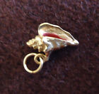 VINTAGE 14K YELLOW GOLD SEA SHELL CONCH 3 D CHARM 14g