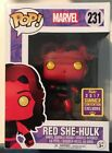 2017 Summer Convention Exclusive Marvel Comics Red She Hulk Funko Pop #231