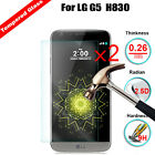 2Pcs Tempered Glass Protector For LG G5 H820 H830 LS992 US992 VS987 RS988 H840
