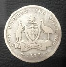 1913  Australian One Florin Two Shillings  Silver  coin rare $$$