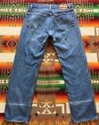 Vtg Levis 501xx Jeans Button Fly Red Tab 80s Blue Denim 33x31 Made In USA
