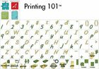 Cricut Printing 101 Cartridge