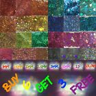 Super Chunky Holo Hexagons 23 Holo colors Fairy Dust Glitter 1 5mm Solvent res