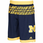 adidas Michigan Wolverines Navy March Madness Shorts College