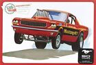 AMT (888/12) 1965 Ford Mustang 1/25 Plastic Scale Model Kit