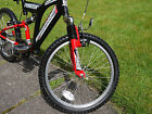 Full suspension Mountain Bike Emmelle 20in wheel155in frame EXCELLENT CONDITION