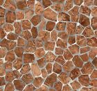 MOSAIC TILE ADHESIVE FILM 79 Shelves Liner Stickers Decal Contact Paper Oak NEW