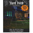 Mega Yard Spider Web Halloween Party Decor Outdoor Giant Decoration New
