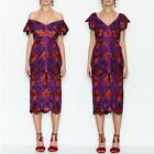 Alice McCall Violet Floral Dress Great Quality party Mid Calf Dresses