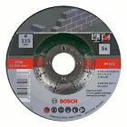 Bosch 2609256334 Cutting Disc Set with Depressed Center for Stone  5-Piece