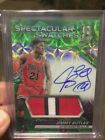 2016-17 Spectra GREEN AUTO SPECTACULAR SWATCHES - JIMMY BUTLER 25