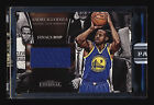 2016-17 PANINI ETERNAL ANDRE IGUODALA BLACK 2015 FINALS MVP PATCH WARRIORS #1 1