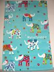 Cynthia Rowley Bathroom Hand Towels Set of 2 - Aqua with Elephants New
