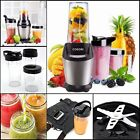 Mini Smoothie Blender Personal Juicer Food Fruit Mixer Travel Sport Bottles 800W