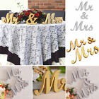 Wedding Reception Sign Solid Wooden Letters MrMrs LOVE Table Centrepiece Decor