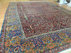 Antique Persian Rug Oriental 10x14  11x15 Lavar Kerman Tree of Life Magnificent!