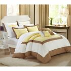 Chic Home Ballroom 11 Piece Bed in a Bag Comforter Set with 4 Piece Sheet Set