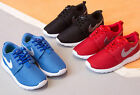US 9 1 Child Kids Boys Girls Lace Up Sneakers Running Breathable Training Shoes